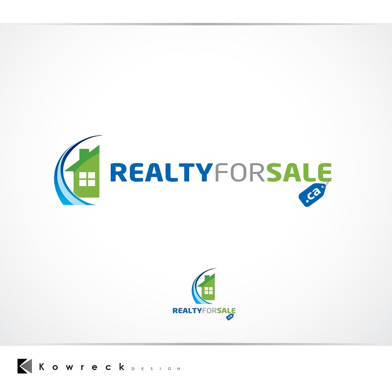 Logo Design by kowreck - Entry No. 57 in the Logo Design Contest Inspiring Logo Design for RealtyForSale.ca.