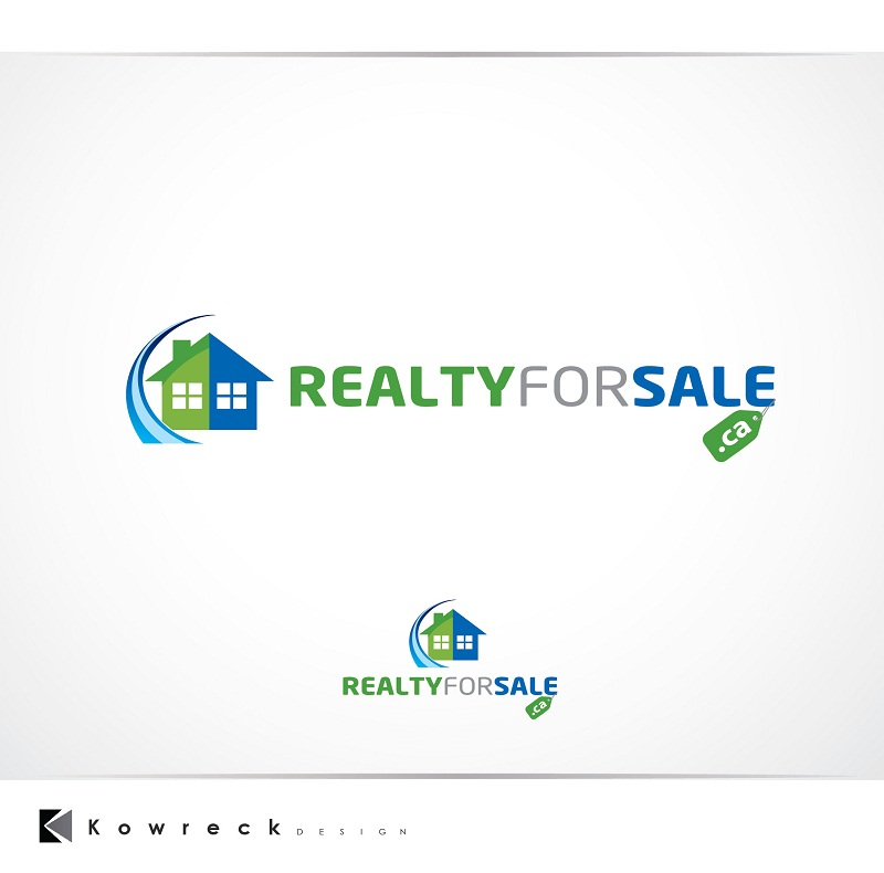 Logo Design by kowreck - Entry No. 58 in the Logo Design Contest Inspiring Logo Design for RealtyForSale.ca.