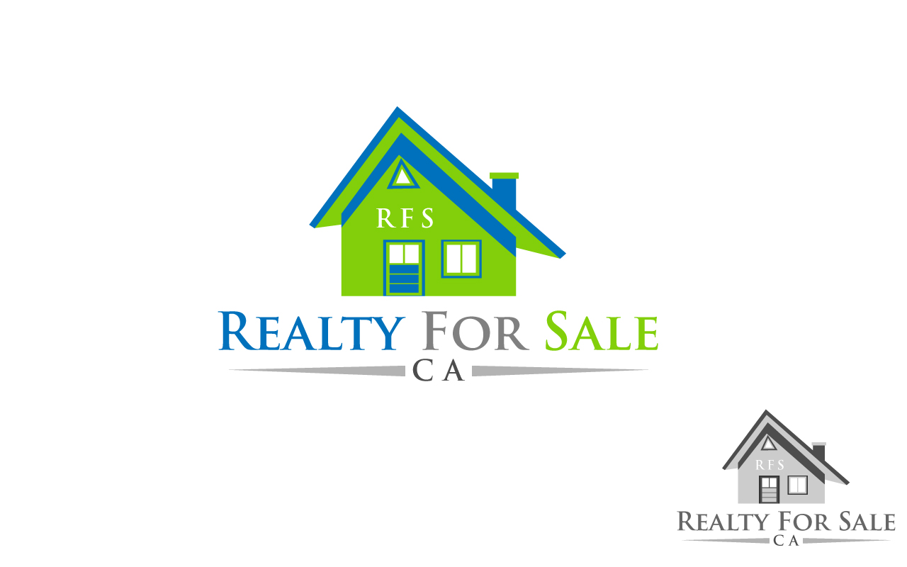 Logo Design by Jagdeep Singh - Entry No. 61 in the Logo Design Contest Inspiring Logo Design for RealtyForSale.ca.