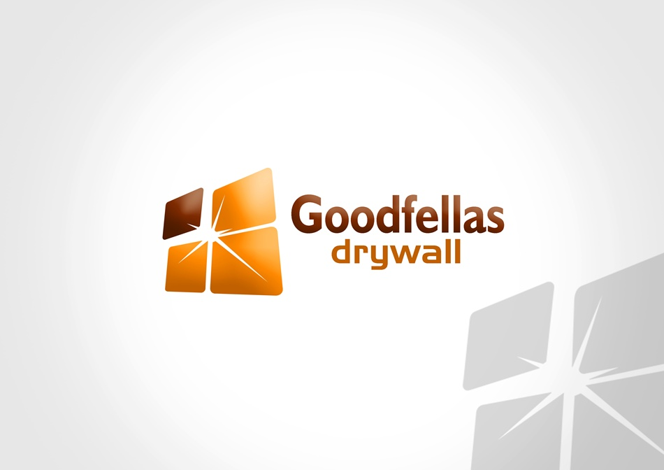 Logo Design by Respati Himawan - Entry No. 2 in the Logo Design Contest Creative Logo Design for Goodfellas Drywall.