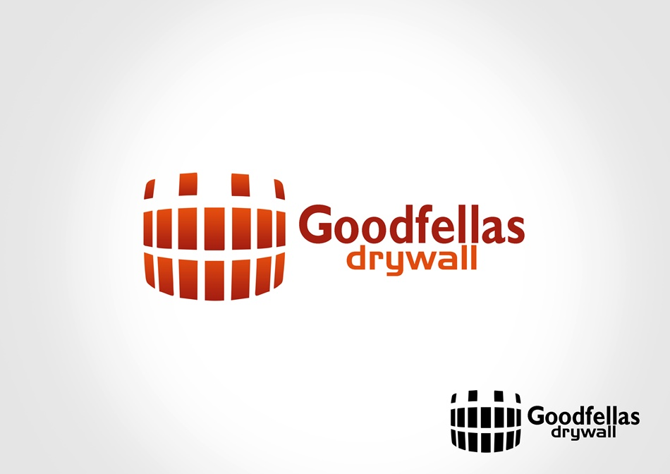 Logo Design by Respati Himawan - Entry No. 3 in the Logo Design Contest Creative Logo Design for Goodfellas Drywall.