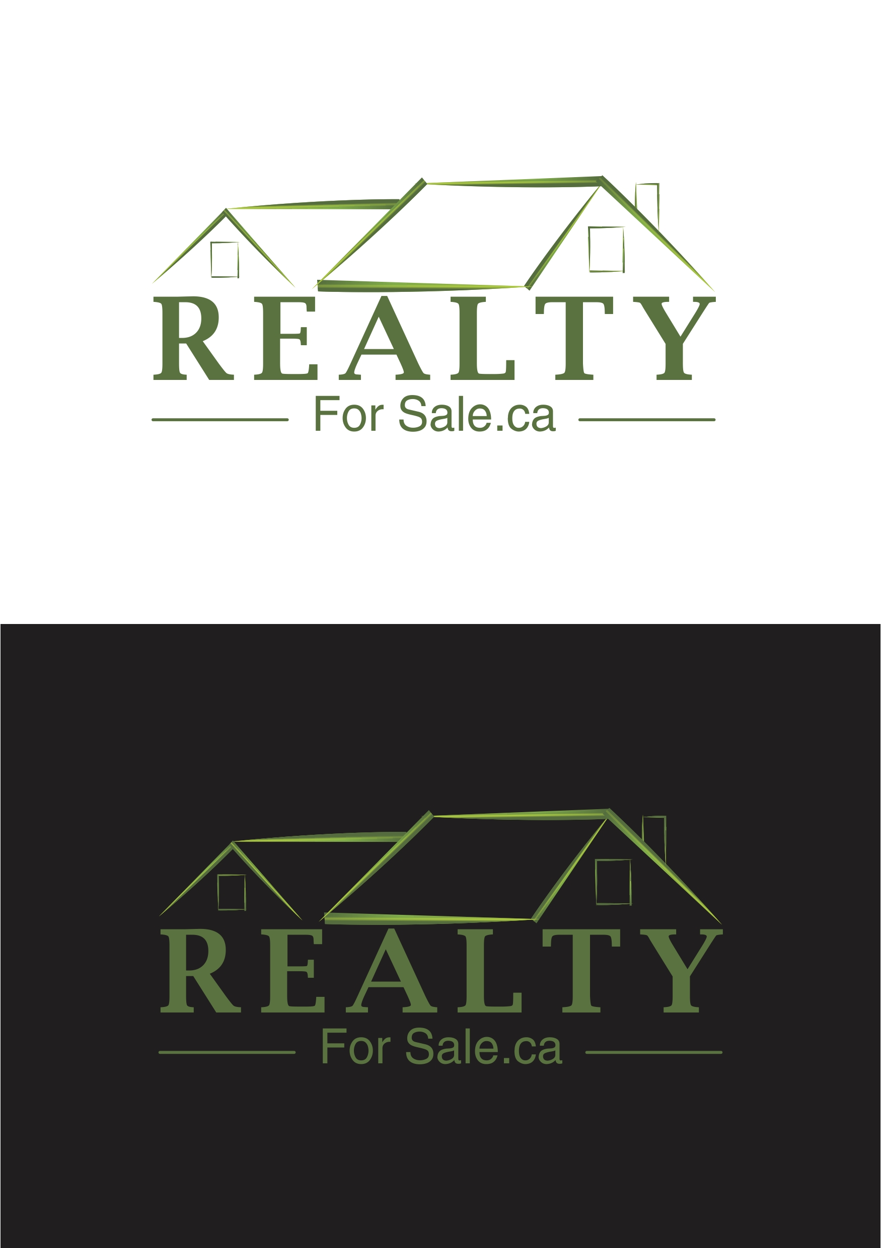 Logo Design by Ramesh Pandey - Entry No. 63 in the Logo Design Contest Inspiring Logo Design for RealtyForSale.ca.