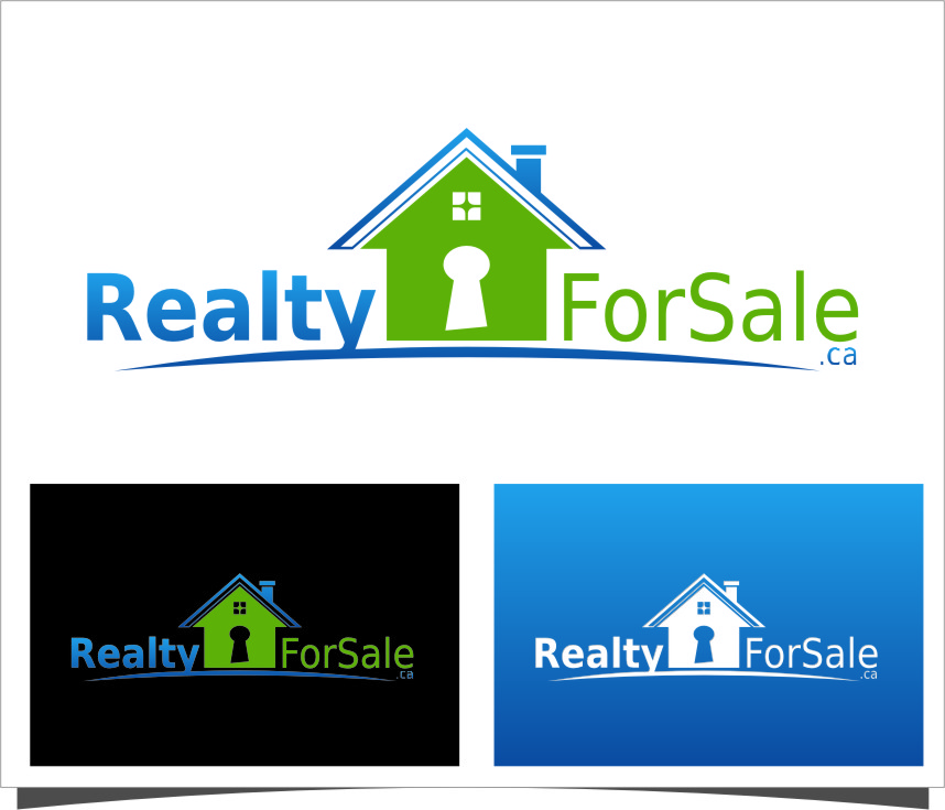 Logo Design by RasYa Muhammad Athaya - Entry No. 65 in the Logo Design Contest Inspiring Logo Design for RealtyForSale.ca.
