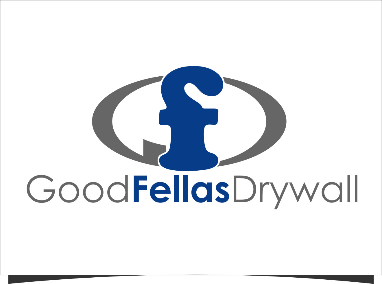 Logo Design by RoSyid Rono-Rene On Java - Entry No. 9 in the Logo Design Contest Creative Logo Design for Goodfellas Drywall.