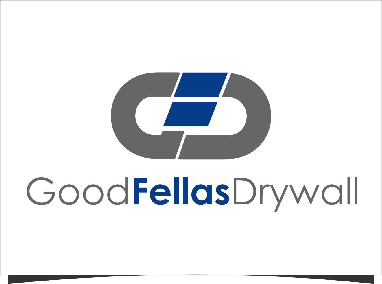 Logo Design by RasYa Muhammad Athaya - Entry No. 10 in the Logo Design Contest Creative Logo Design for Goodfellas Drywall.