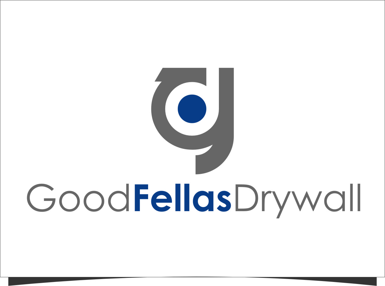 Logo Design by RasYa Muhammad Athaya - Entry No. 11 in the Logo Design Contest Creative Logo Design for Goodfellas Drywall.