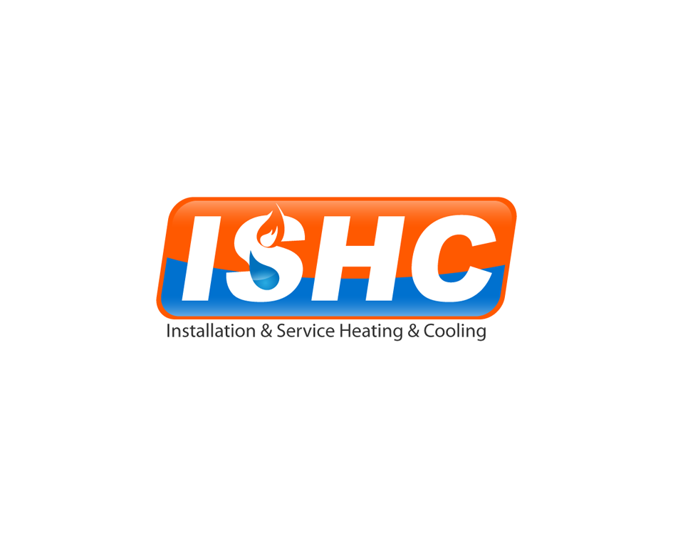Logo Design by Yusuf Nurochim - Entry No. 20 in the Logo Design Contest New Logo Design for Installation & Service Heating & Cooling (ISHC).