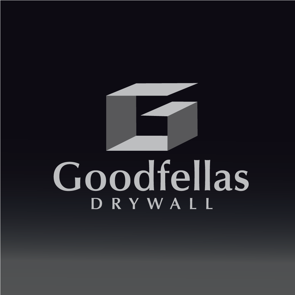 Logo Design by rockin - Entry No. 21 in the Logo Design Contest Creative Logo Design for Goodfellas Drywall.