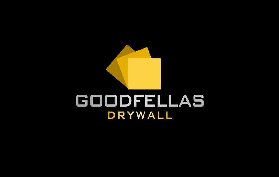 Logo Design by Respati Himawan - Entry No. 39 in the Logo Design Contest Creative Logo Design for Goodfellas Drywall.