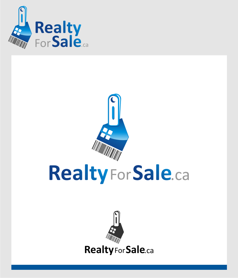 Logo Design by graphicleaf - Entry No. 80 in the Logo Design Contest Inspiring Logo Design for RealtyForSale.ca.