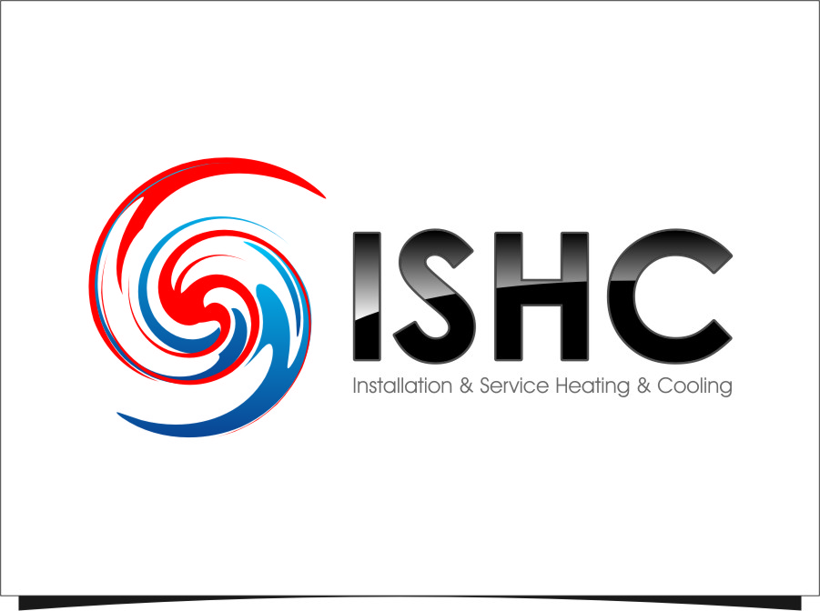 Logo Design by RoSyid Rono-Rene On Java - Entry No. 27 in the Logo Design Contest New Logo Design for Installation & Service Heating & Cooling (ISHC).
