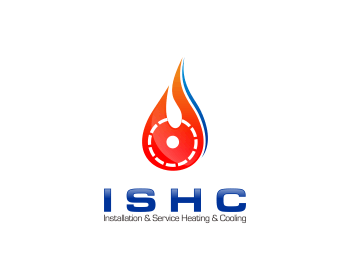 Logo Design by Private User - Entry No. 29 in the Logo Design Contest New Logo Design for Installation & Service Heating & Cooling (ISHC).