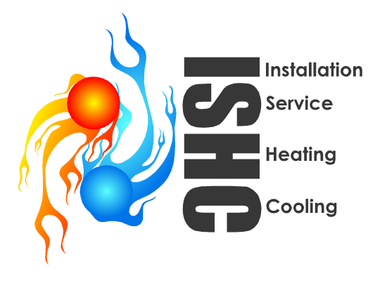 Logo Design by Ismail Adhi Wibowo - Entry No. 32 in the Logo Design Contest New Logo Design for Installation & Service Heating & Cooling (ISHC).