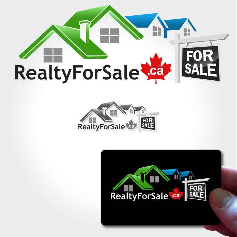 Logo Design by Private User - Entry No. 95 in the Logo Design Contest Inspiring Logo Design for RealtyForSale.ca.