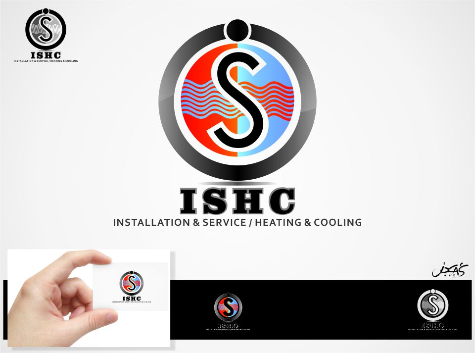Logo Design by joca - Entry No. 33 in the Logo Design Contest New Logo Design for Installation & Service Heating & Cooling (ISHC).