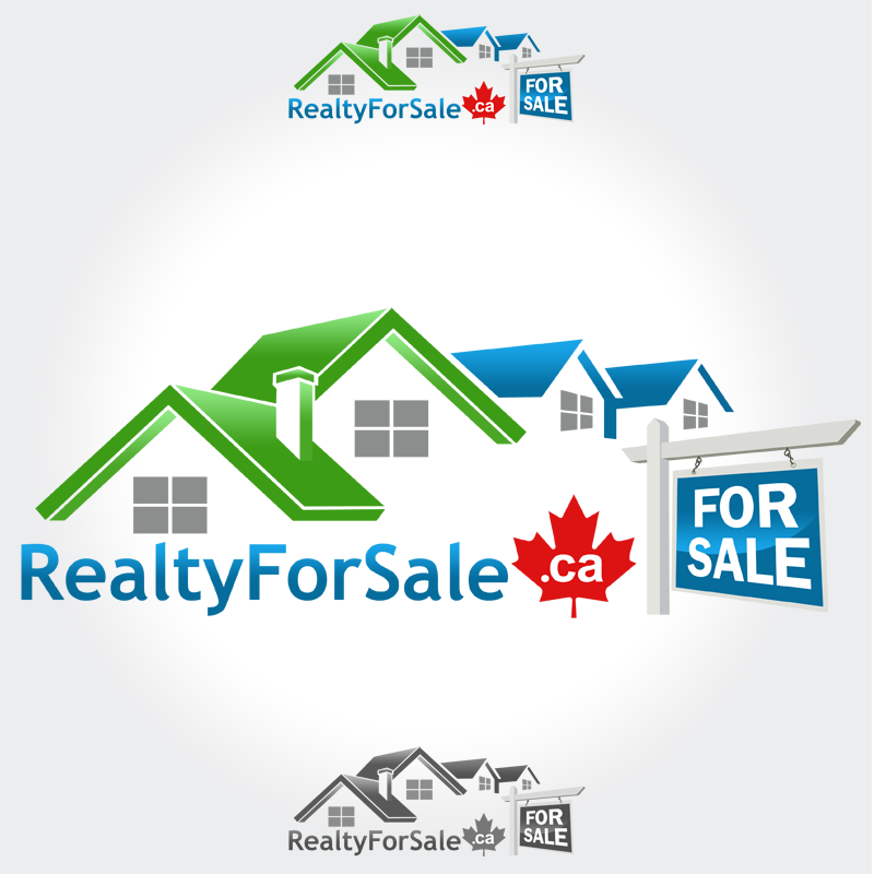 Logo Design by Private User - Entry No. 96 in the Logo Design Contest Inspiring Logo Design for RealtyForSale.ca.
