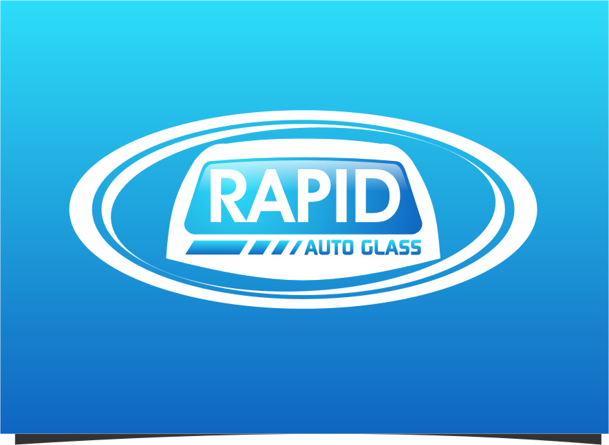 Logo Design by Ngepet_art - Entry No. 139 in the Logo Design Contest Unique Logo Design Wanted for Rapid Auto Glass.