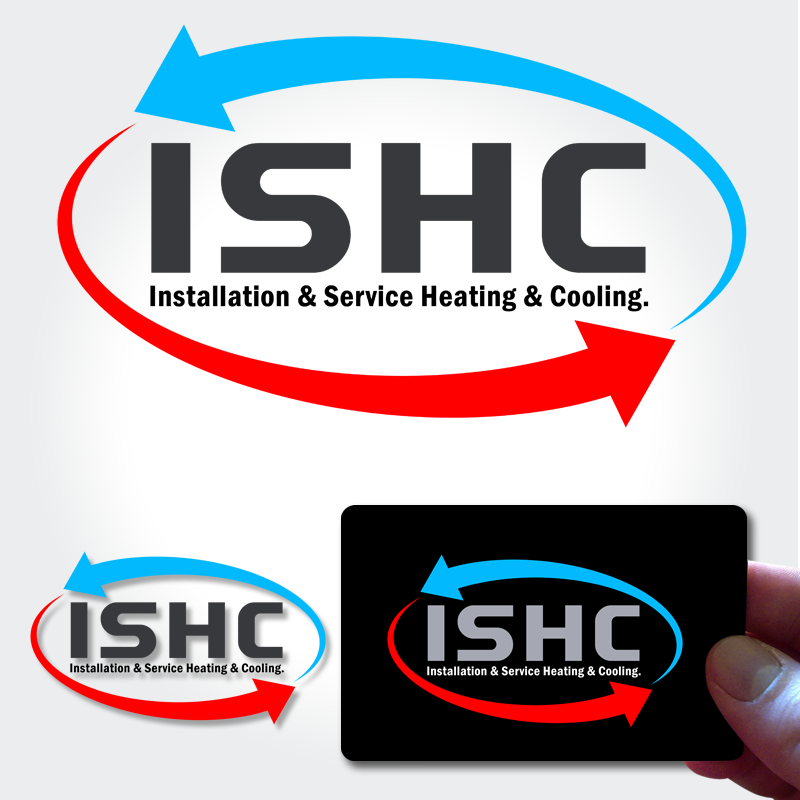Logo Design by Private User - Entry No. 35 in the Logo Design Contest New Logo Design for Installation & Service Heating & Cooling (ISHC).