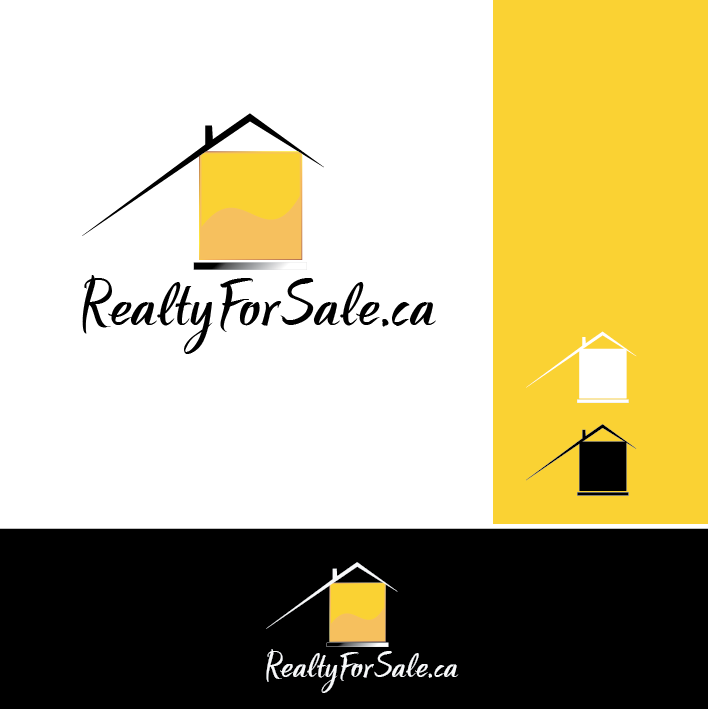 Logo Design by limix - Entry No. 97 in the Logo Design Contest Inspiring Logo Design for RealtyForSale.ca.
