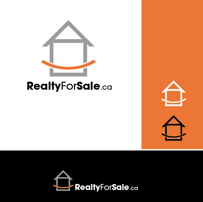 Logo Design by limix - Entry No. 98 in the Logo Design Contest Inspiring Logo Design for RealtyForSale.ca.