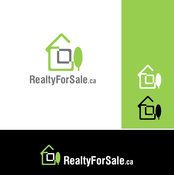 Logo Design by limix - Entry No. 99 in the Logo Design Contest Inspiring Logo Design for RealtyForSale.ca.