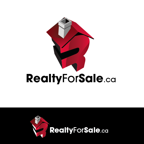 Logo Design by limix - Entry No. 100 in the Logo Design Contest Inspiring Logo Design for RealtyForSale.ca.