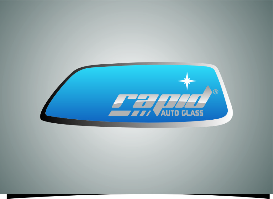 Logo Design by RoSyid Rono-Rene On Java - Entry No. 140 in the Logo Design Contest Unique Logo Design Wanted for Rapid Auto Glass.