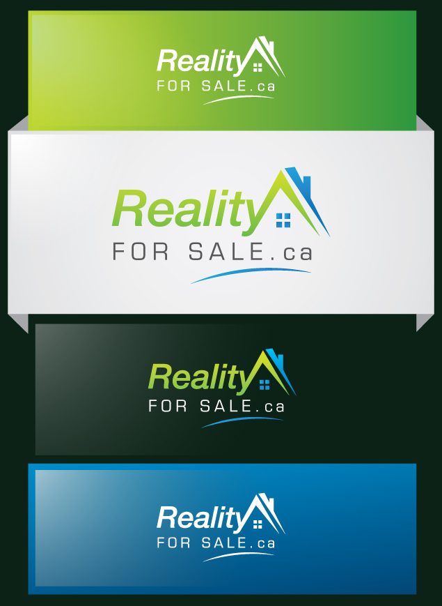 Logo Design by Creasian - Entry No. 101 in the Logo Design Contest Inspiring Logo Design for RealtyForSale.ca.