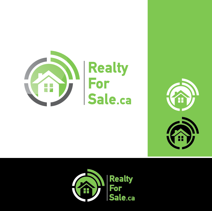 Logo Design by limix - Entry No. 103 in the Logo Design Contest Inspiring Logo Design for RealtyForSale.ca.