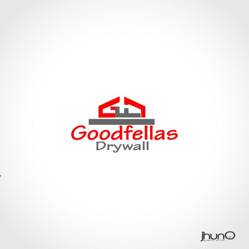 Logo Design by zesthar - Entry No. 44 in the Logo Design Contest Creative Logo Design for Goodfellas Drywall.