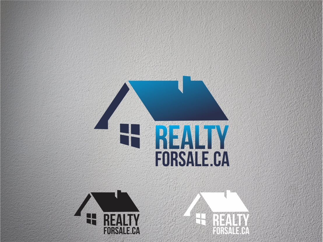 Logo Design by Rizwan Saeed - Entry No. 107 in the Logo Design Contest Inspiring Logo Design for RealtyForSale.ca.