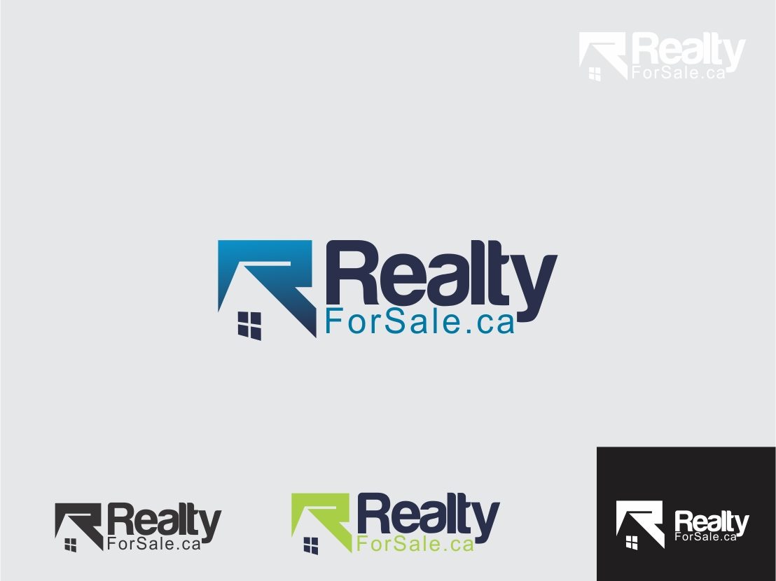 Logo Design by Rizwan Saeed - Entry No. 109 in the Logo Design Contest Inspiring Logo Design for RealtyForSale.ca.