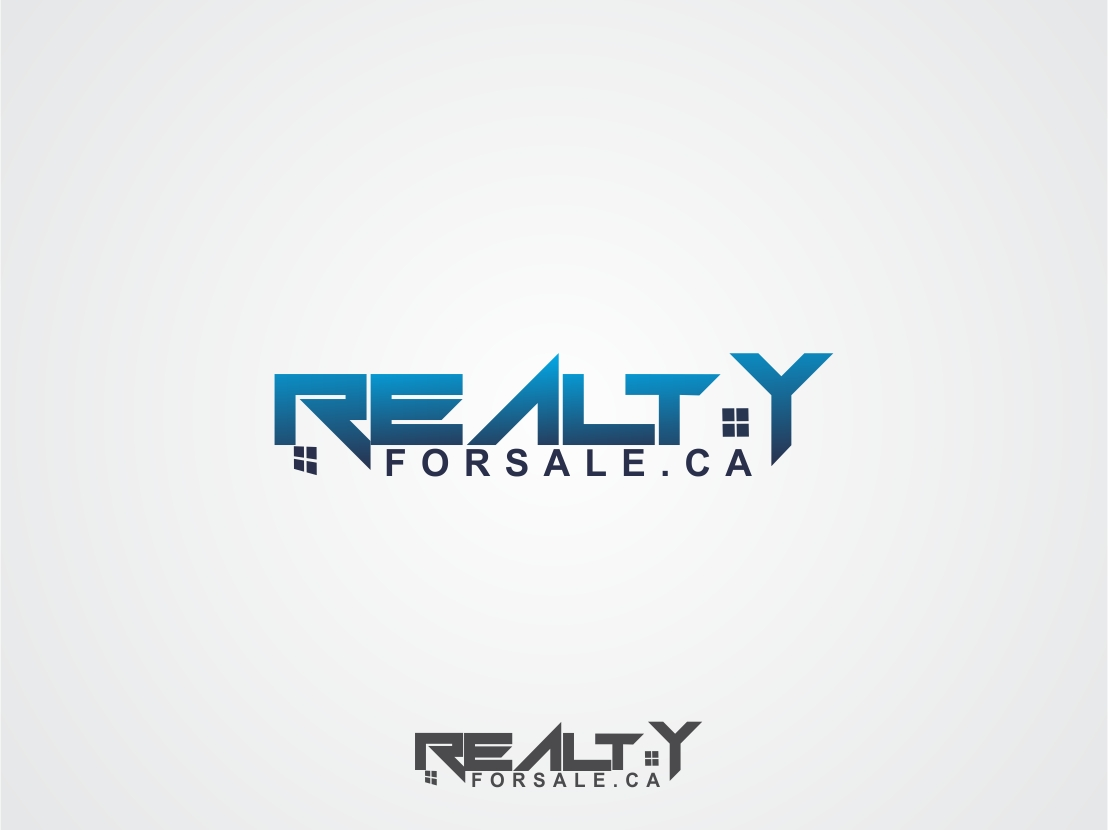 Logo Design by Rizwan Saeed - Entry No. 110 in the Logo Design Contest Inspiring Logo Design for RealtyForSale.ca.