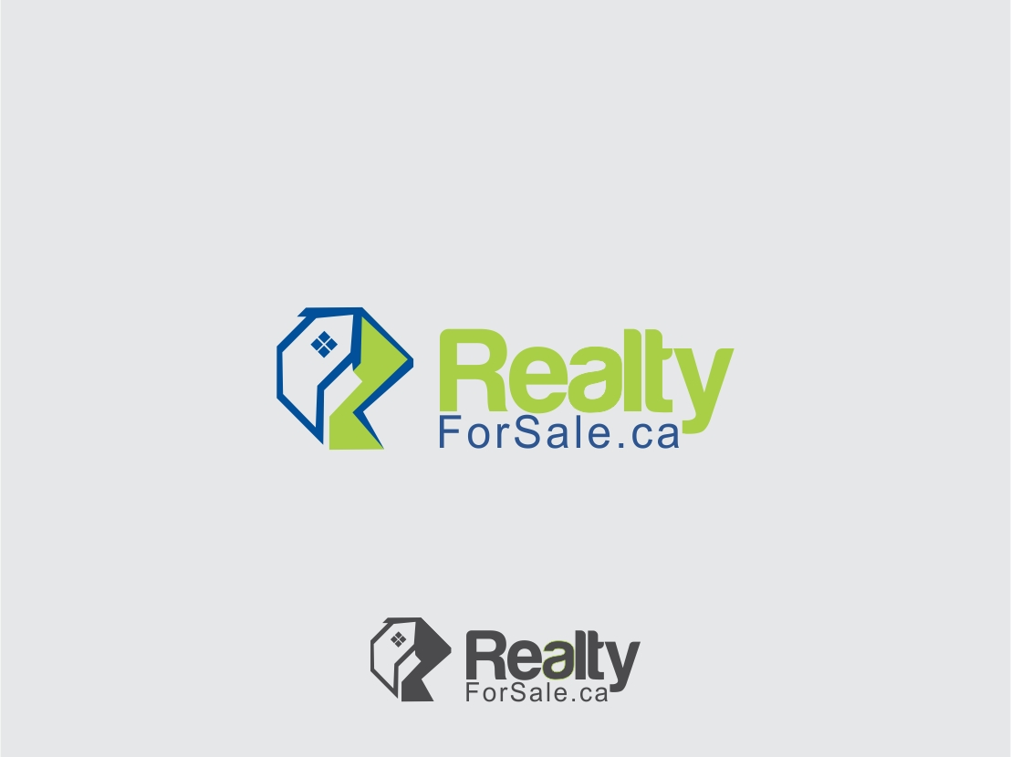 Logo Design by Rizwan Saeed - Entry No. 111 in the Logo Design Contest Inspiring Logo Design for RealtyForSale.ca.