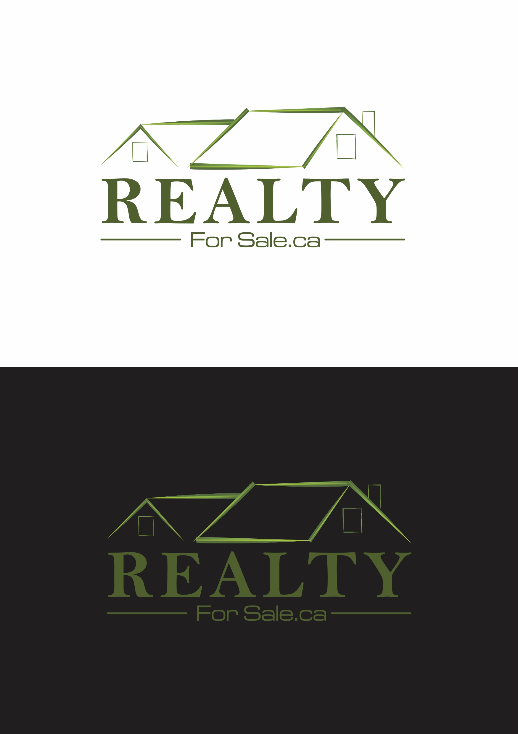 Logo Design by Ramesh Pandey - Entry No. 112 in the Logo Design Contest Inspiring Logo Design for RealtyForSale.ca.