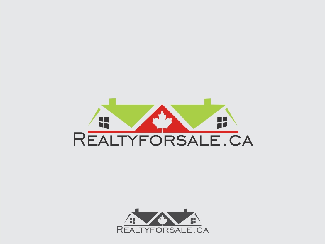 Logo Design by Rizwan Saeed - Entry No. 113 in the Logo Design Contest Inspiring Logo Design for RealtyForSale.ca.