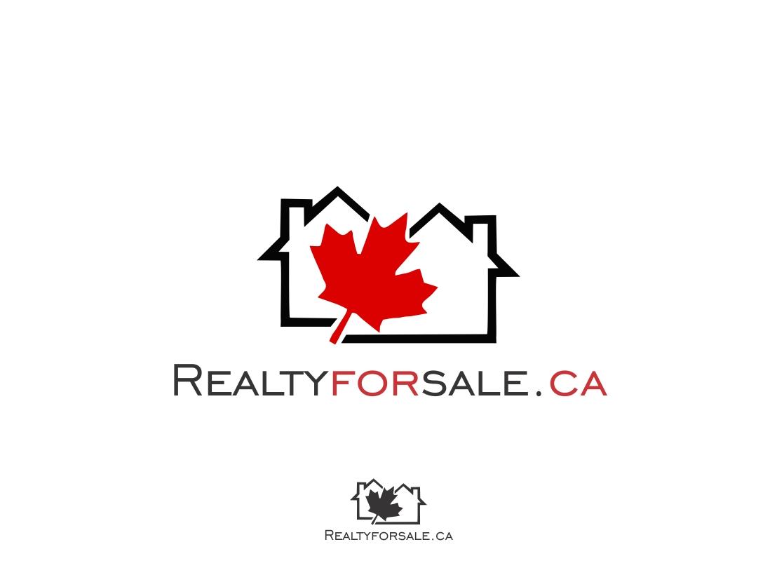 Logo Design by Rizwan Saeed - Entry No. 114 in the Logo Design Contest Inspiring Logo Design for RealtyForSale.ca.