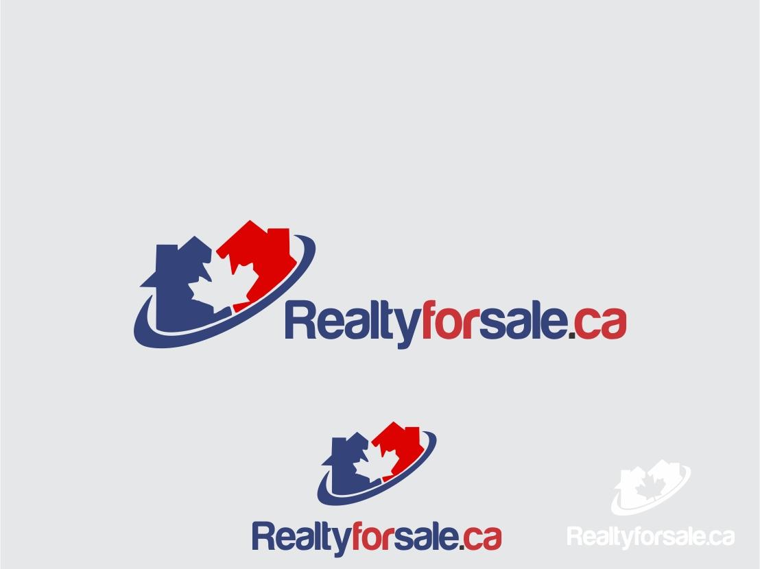 Logo Design by Rizwan Saeed - Entry No. 115 in the Logo Design Contest Inspiring Logo Design for RealtyForSale.ca.