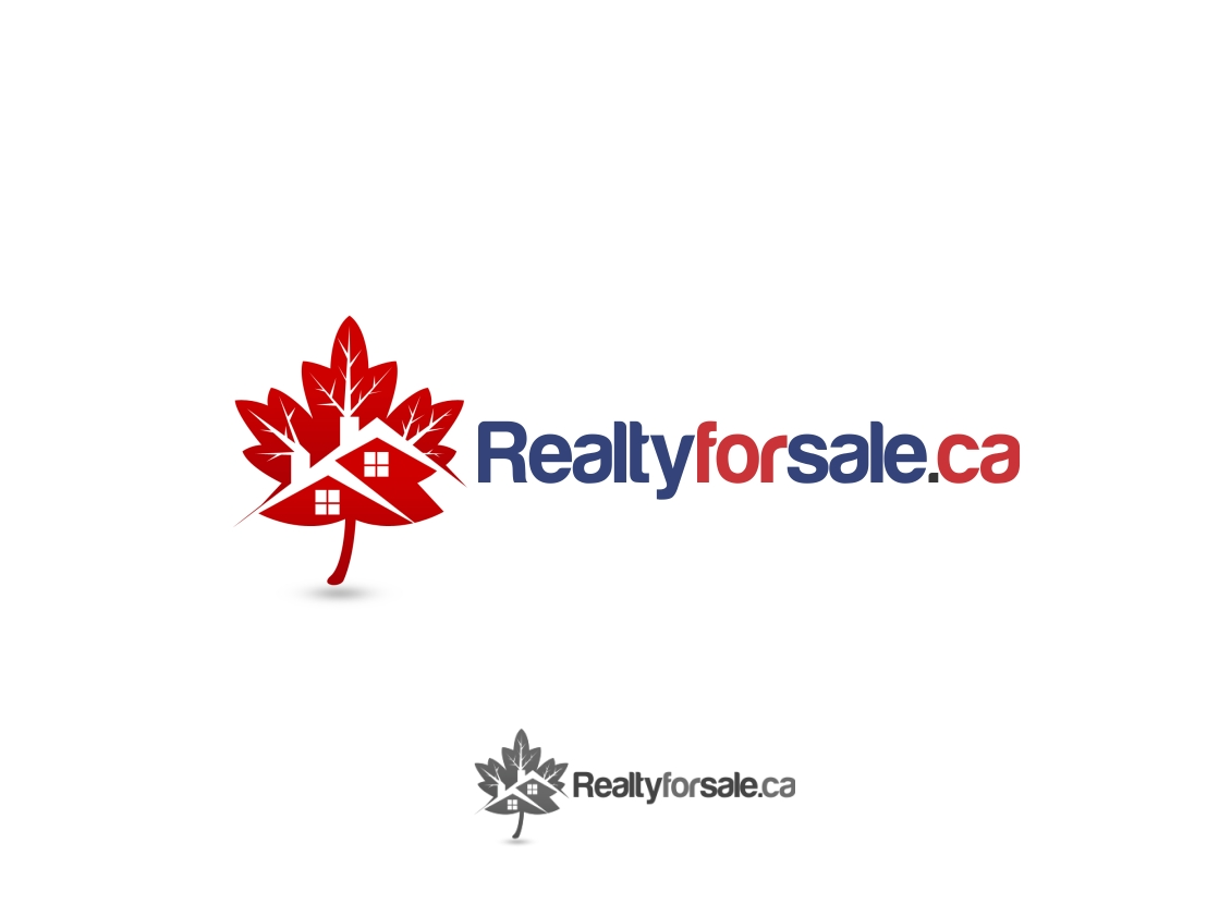 Logo Design by Rizwan Saeed - Entry No. 116 in the Logo Design Contest Inspiring Logo Design for RealtyForSale.ca.