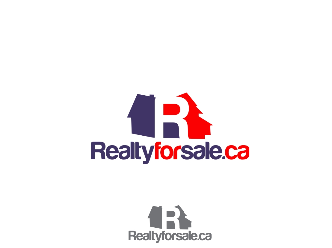 Logo Design by Rizwan Saeed - Entry No. 119 in the Logo Design Contest Inspiring Logo Design for RealtyForSale.ca.