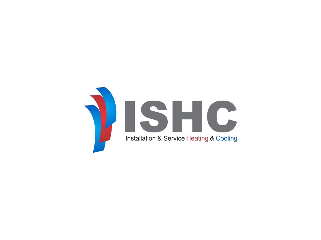 Logo Design by Rizwan Saeed - Entry No. 38 in the Logo Design Contest New Logo Design for Installation & Service Heating & Cooling (ISHC).