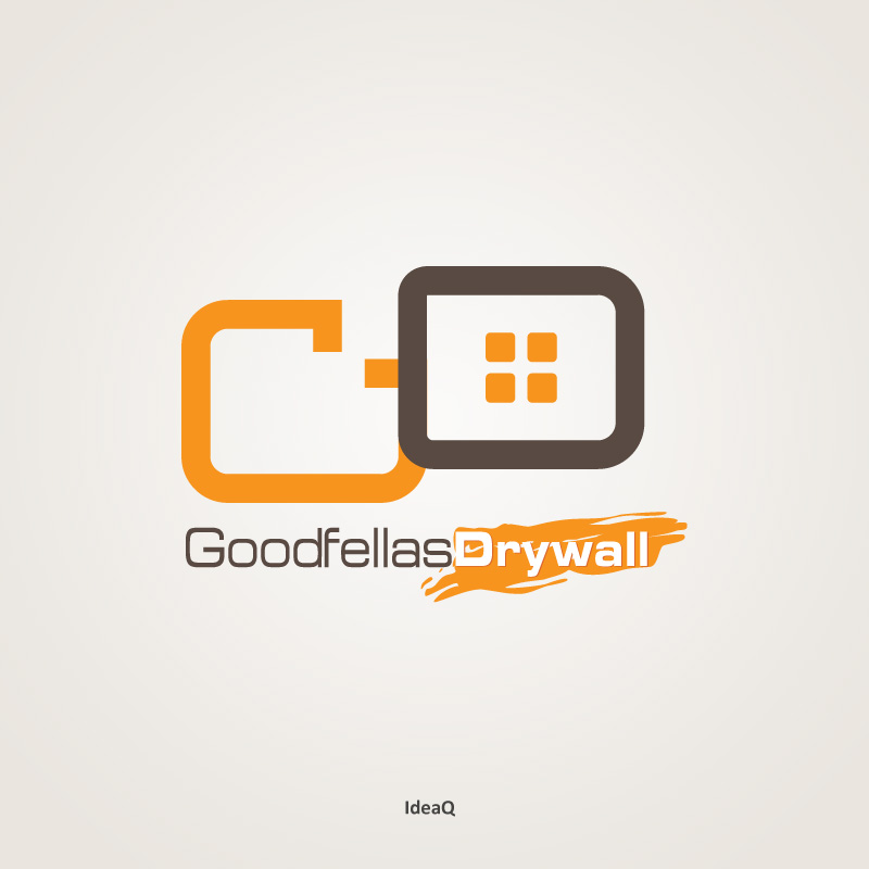 Logo Design by Private User - Entry No. 47 in the Logo Design Contest Creative Logo Design for Goodfellas Drywall.
