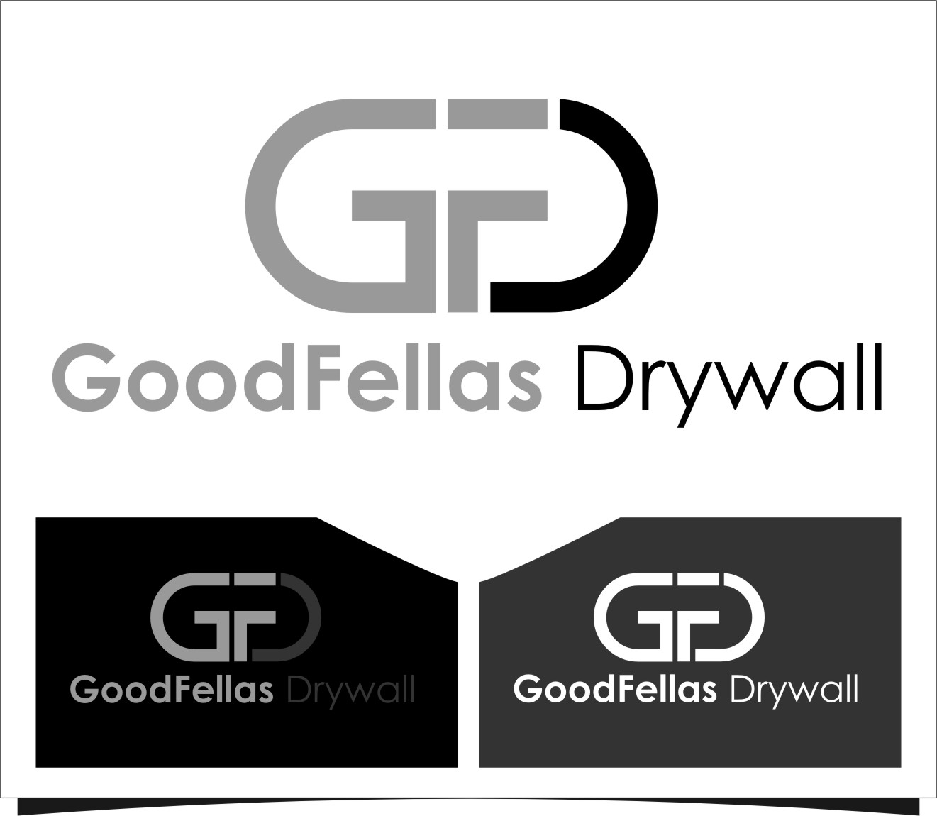 Logo Design by Ngepet_art - Entry No. 48 in the Logo Design Contest Creative Logo Design for Goodfellas Drywall.