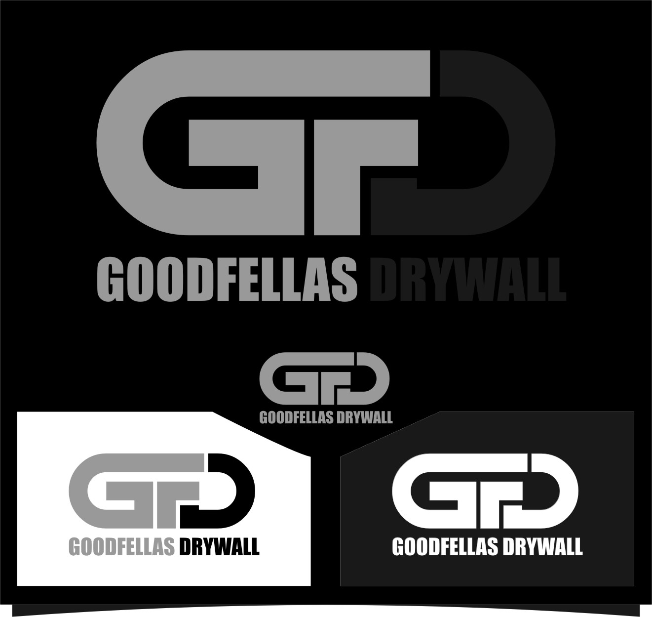 Logo Design by Ngepet_art - Entry No. 49 in the Logo Design Contest Creative Logo Design for Goodfellas Drywall.
