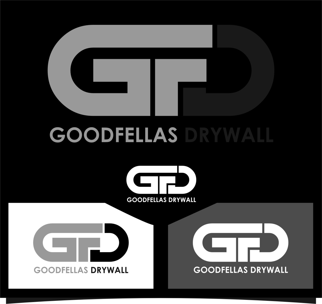 Logo Design by RasYa Muhammad Athaya - Entry No. 50 in the Logo Design Contest Creative Logo Design for Goodfellas Drywall.