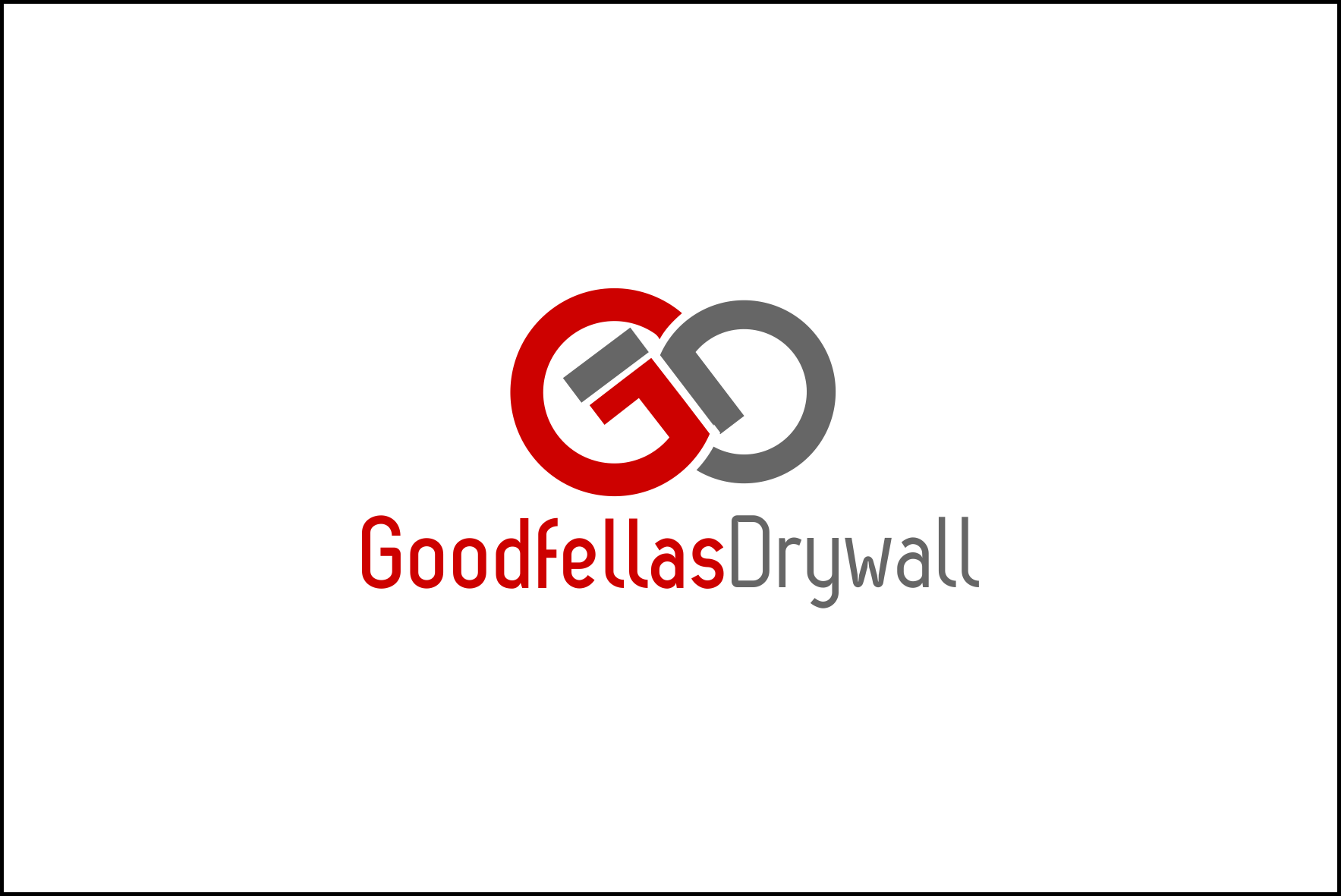 Logo Design by ningnung - Entry No. 59 in the Logo Design Contest Creative Logo Design for Goodfellas Drywall.