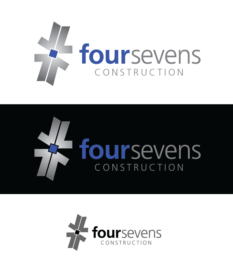 Logo Design by Christina Evans - Entry No. 1 in the Logo Design Contest New Logo Design for foursevens.