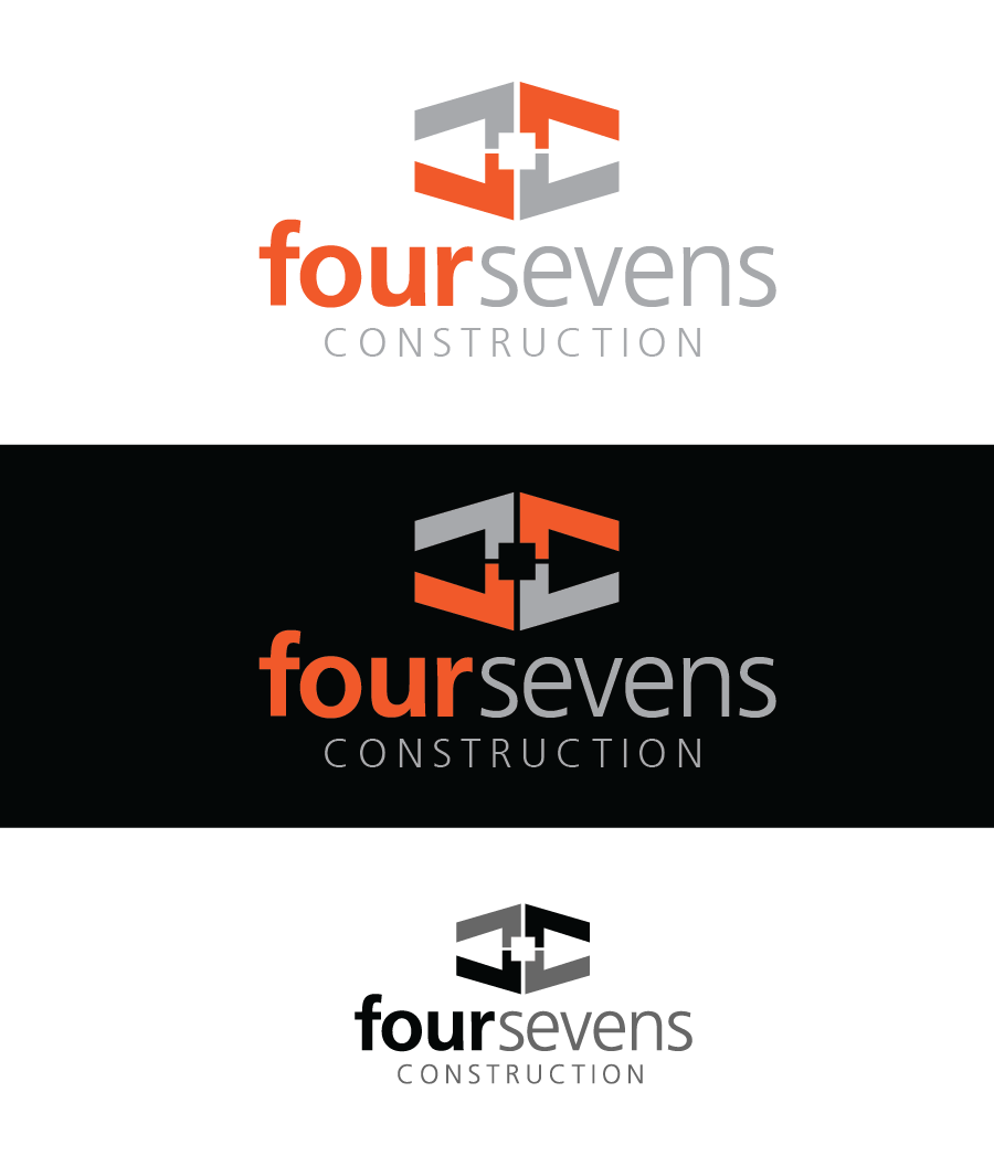 Logo Design by Christina Evans - Entry No. 2 in the Logo Design Contest New Logo Design for foursevens.