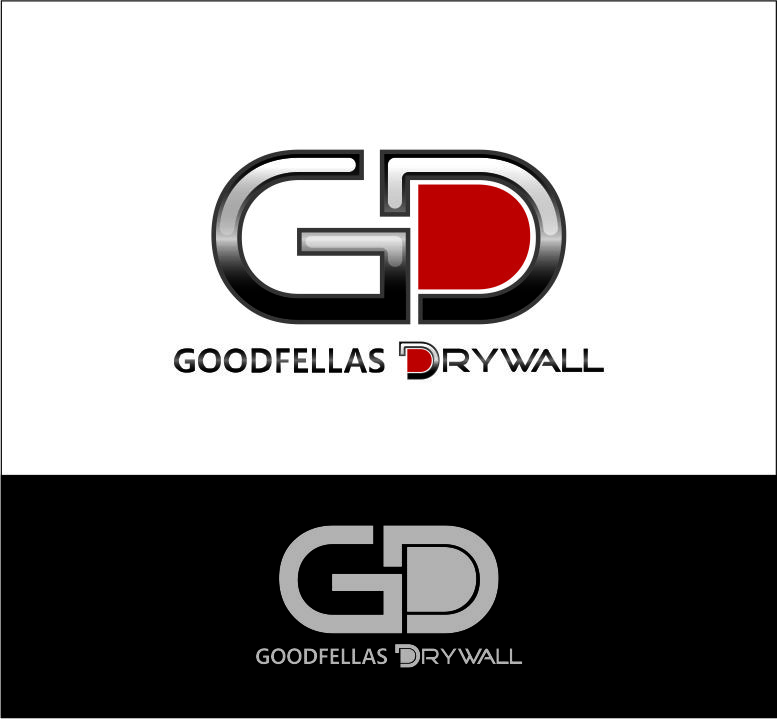 Logo Design by Agus Martoyo - Entry No. 61 in the Logo Design Contest Creative Logo Design for Goodfellas Drywall.