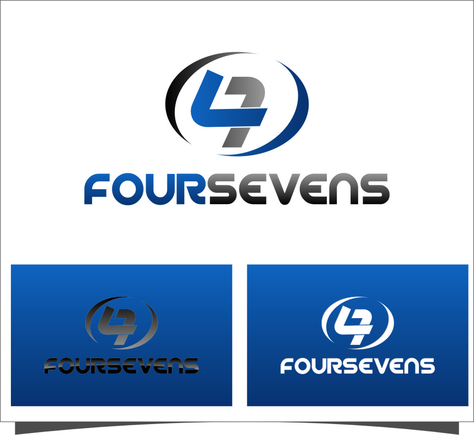 Logo Design by Ngepet_art - Entry No. 3 in the Logo Design Contest New Logo Design for foursevens.